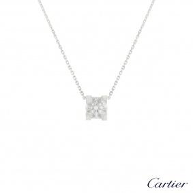 Cartier C de Cartier Diamond Necklace 1.24ct F/VVS1 XXX
